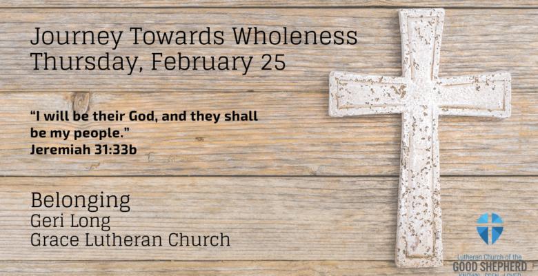 February 25 Devotion