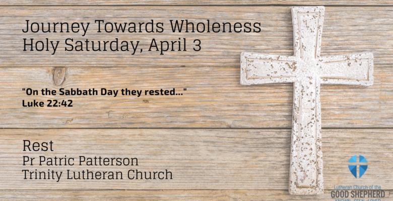 Saturday, April 3